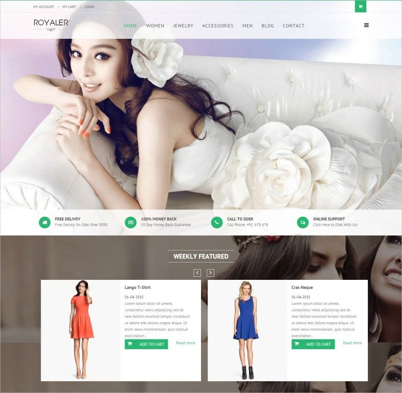 royaler ecommerce joomla template 788x771
