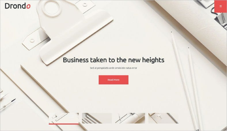 Responsive Corporate Business WordPress Theme