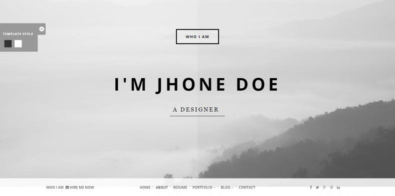 Responsive Portfolio Joomla Template