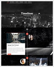Responsive-Website-Timeline-Blogging-WP