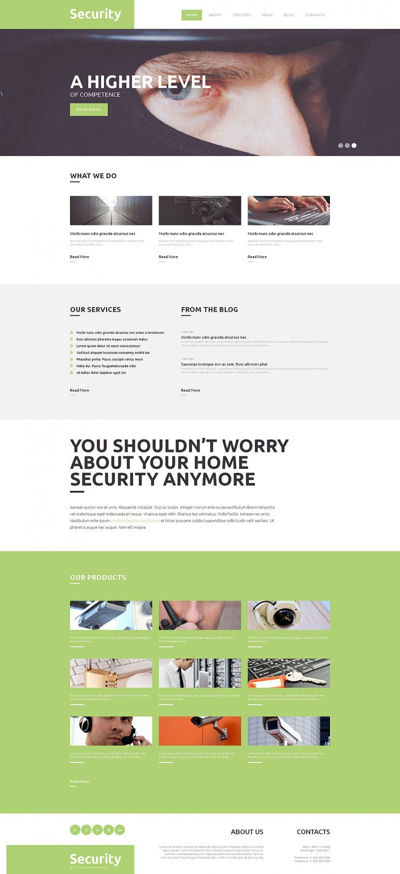 responsive wordpress theme for high level security 788x1720