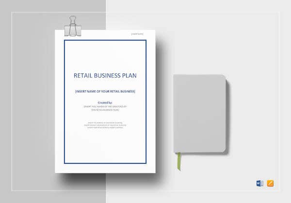 retail business plan template8