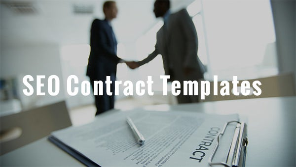 seo contract templates