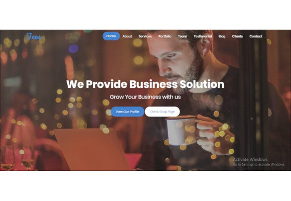 seo friendly bootstrap template