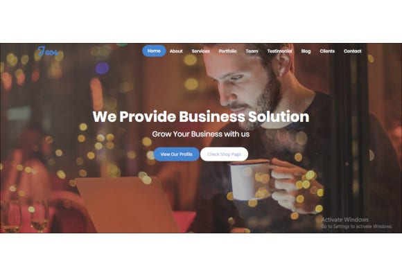 seo friendly bootstrap template1