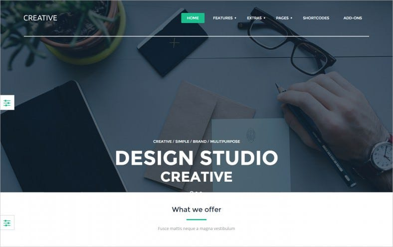 SEO Friendly Creative Design Studio Joomla Template