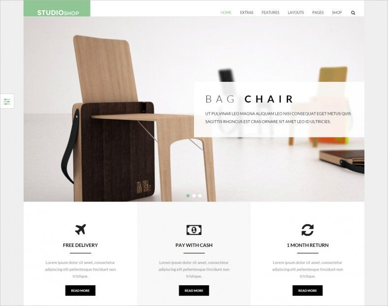 SEO Friendly Furniture Shop Joomla Template