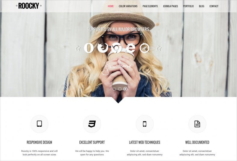 SEO Optimized Business Joomla Template