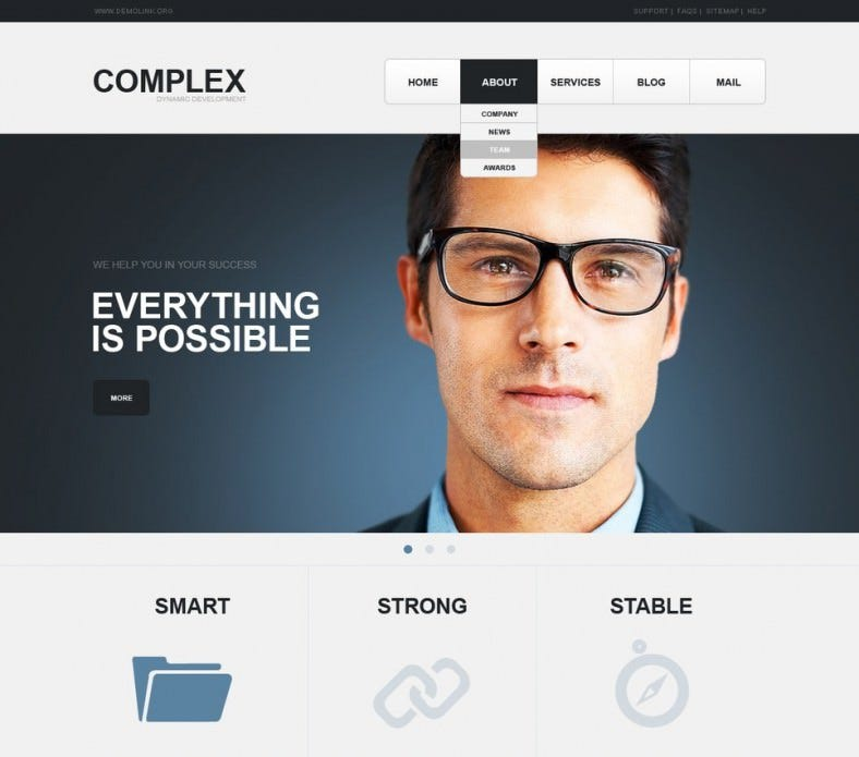 SEO Website Joomla Template
