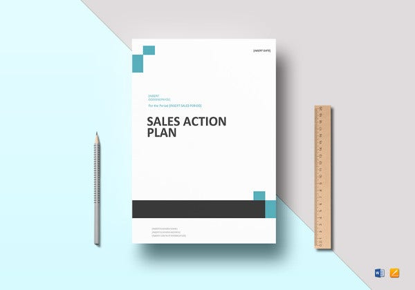 sales action plan in word