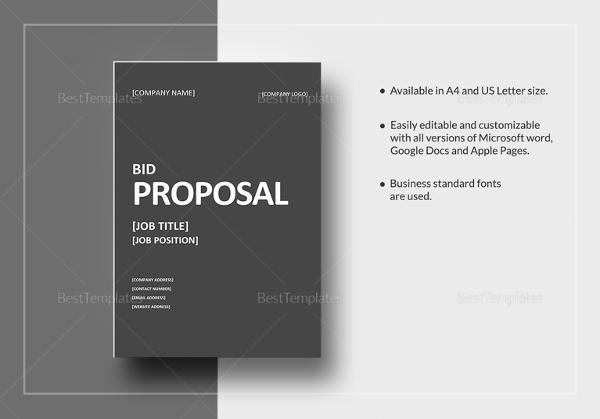 sample-bid-proposal-template