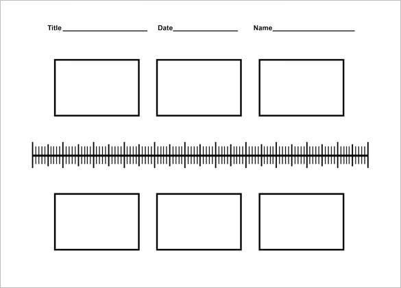 Nice Sample Blank History Timeline Templates For Kids PDF