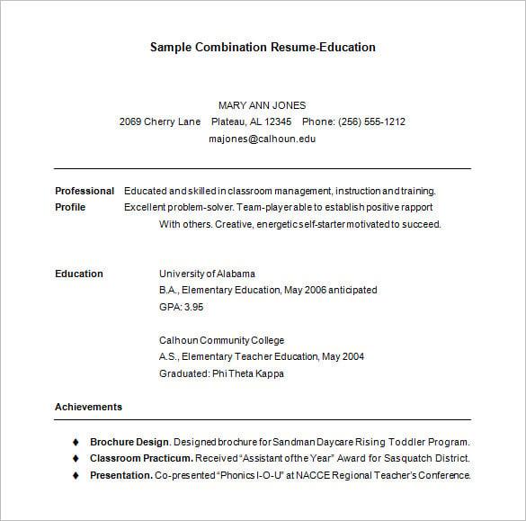 hybrid resume template hybrid resume template