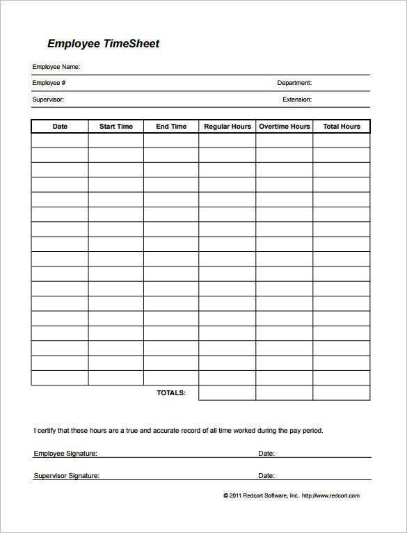 Payroll Hours Calculator Employee Payroll Register Template