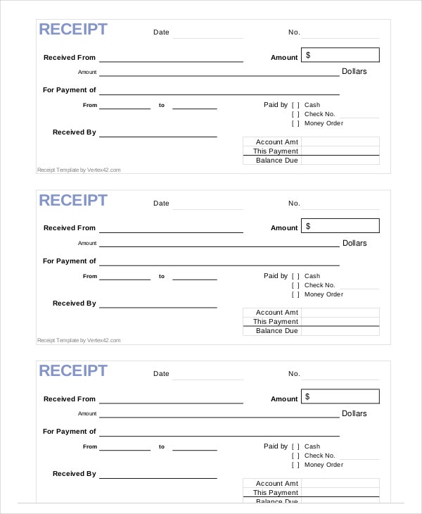 sample-receipt-form