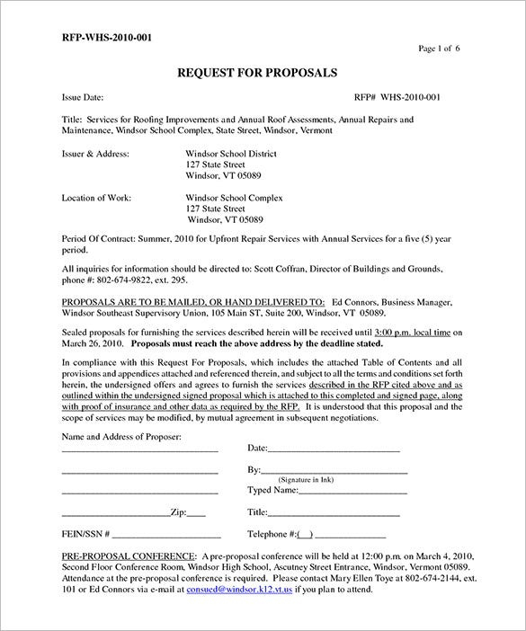 6 Roofing Contract Templates Free Pdf Format Download