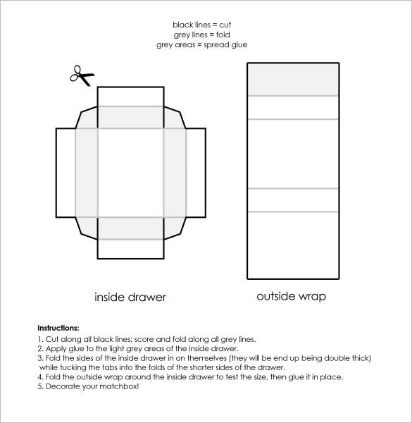 cardboard box template - Gecce.tackletarts.co