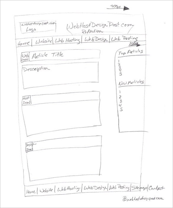 Website Storyboard Examples: 85+ Free Word, PDF, PPT, PSD Format