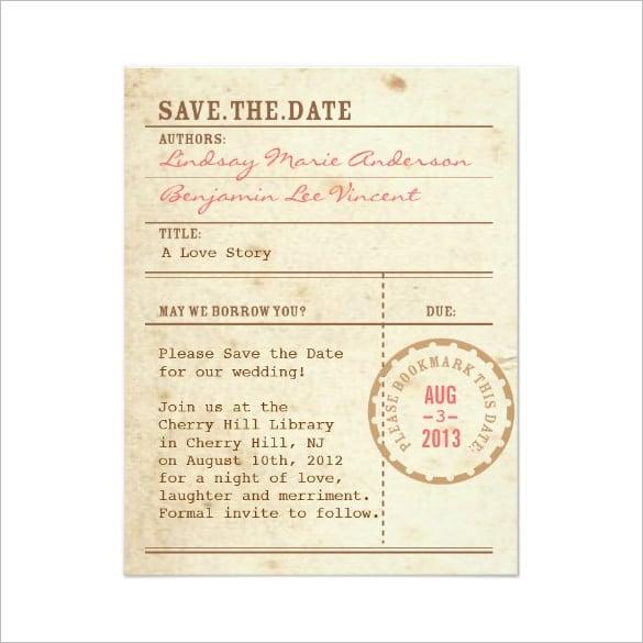save date invitation templates | datariouruguay