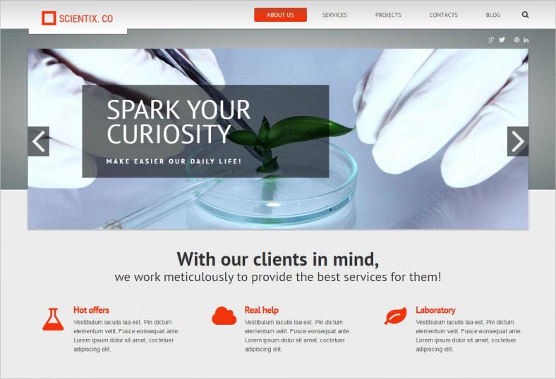 science lab responsive wordpress theme 2 788x538