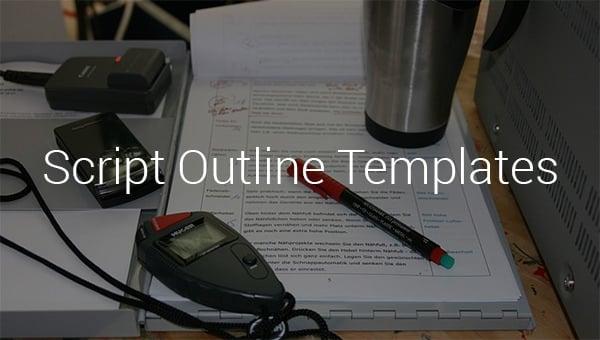 script outline templates