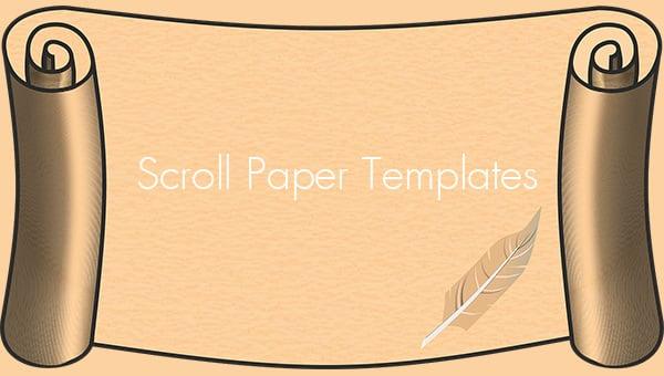 scrollpapertemplates