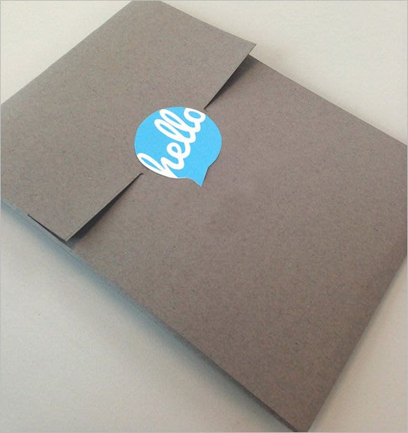 self promotion direct mail a2 envelope template