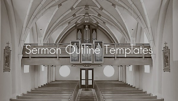 Sermon Outline Template - 6+ Free Word, Excel, PDF Format Download