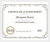 Simple-Certificate-of-Achievement-Word