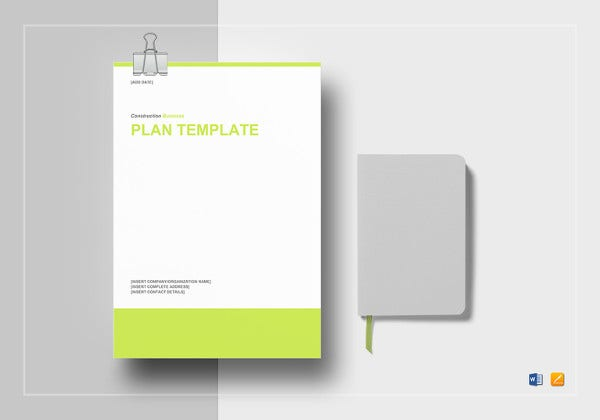 simple construction business plan template