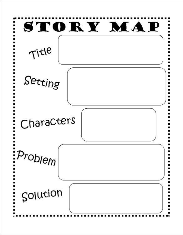 simple story map template for 3rd grade1