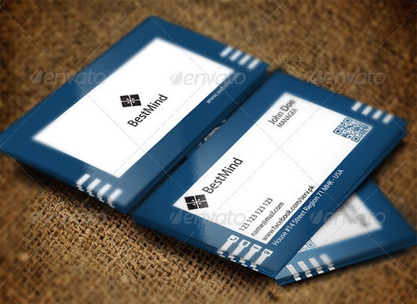 simple visiting card eps illustrator for 6