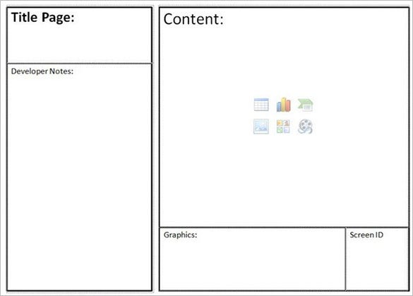 Website Storyboard Templates – 9+ Free Word, Excel, PDF, PPT ...