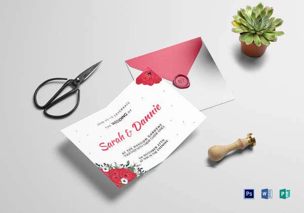 Wedding Invitation Card Sample: 27+ Free Sample, Example Format