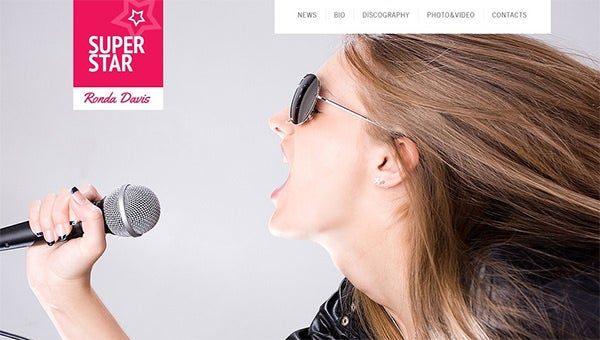 singerwebsitetemplates