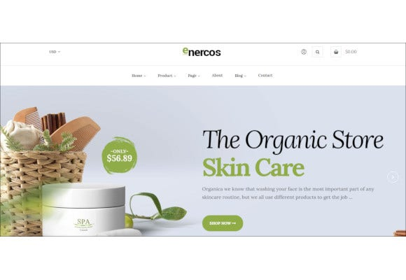 single product shopify ecommerce template