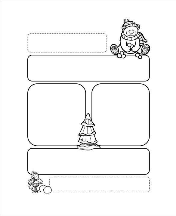 Printable Preschool Newsletter Templates  Free Word Pdf