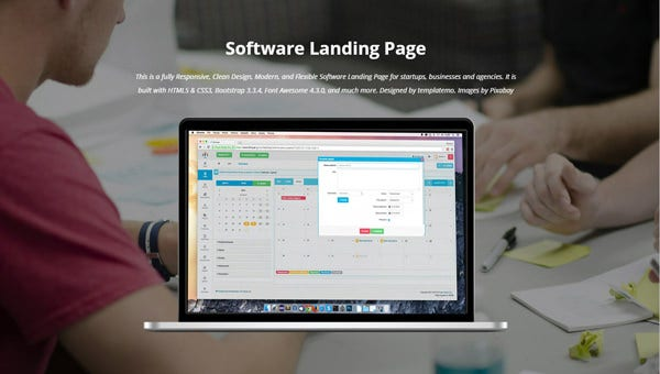 softwarelandingpage