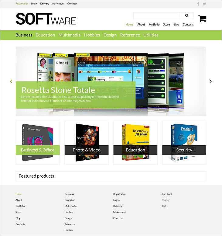 software store woocommerce theme