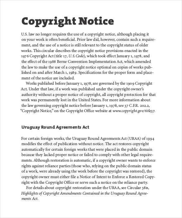 standard-proper-copyright-notice