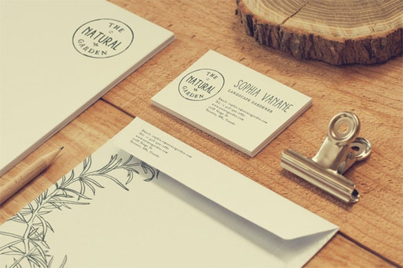 stationery business envelope template 4