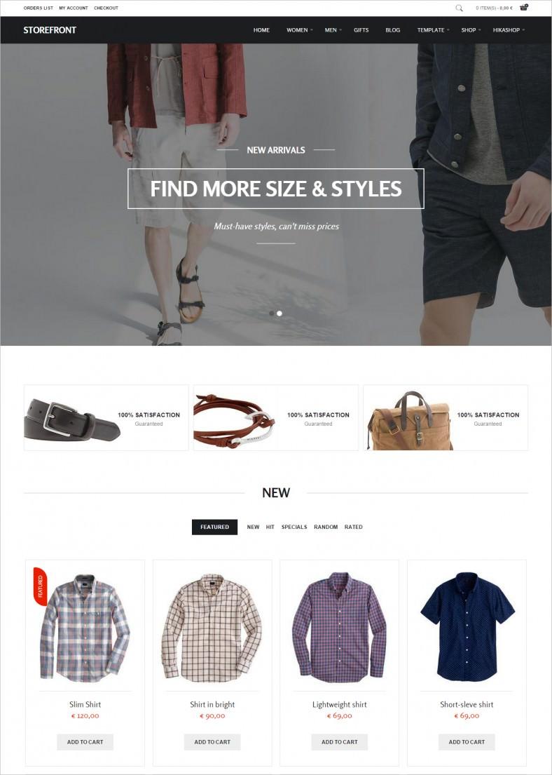 storefront professional ecommerce joomla theme 788x1105