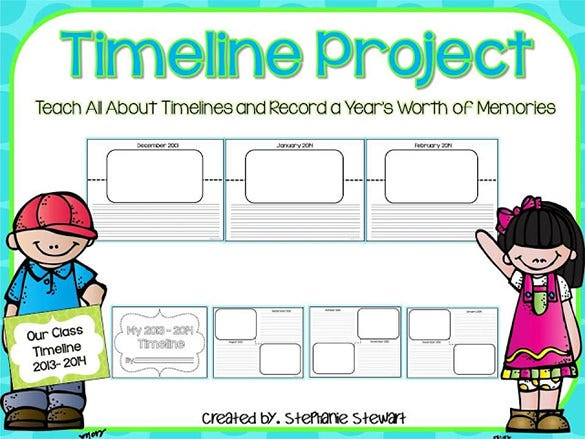 Student Timeline Template Project Example