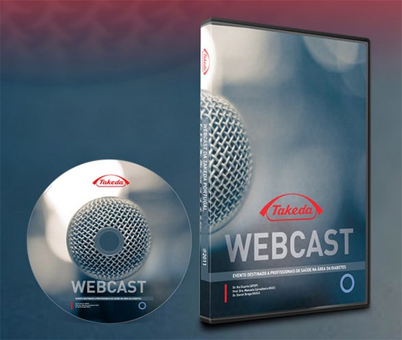 takeda dvd cover psd product design template