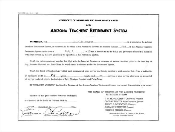 Certificates Educator Certification Arizona Department 4797474 ...