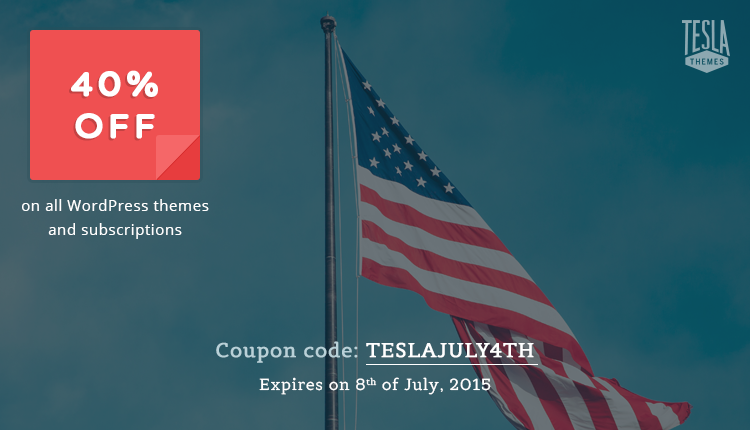 Tesla Themes Coupon Codes