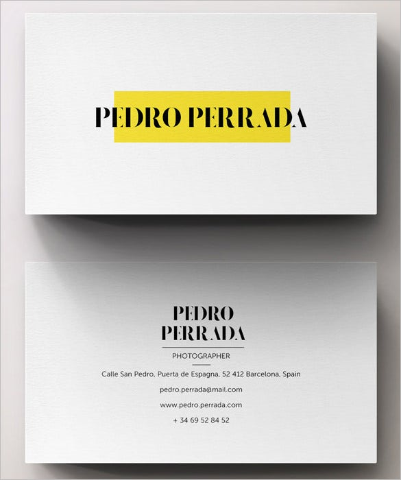 the psd photoshop calling card template