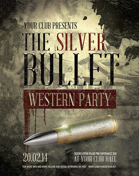 the silver bullet western flyer