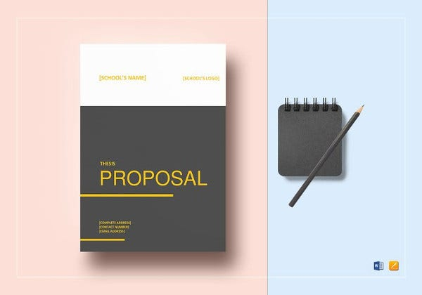 thesis proposal template in ipages