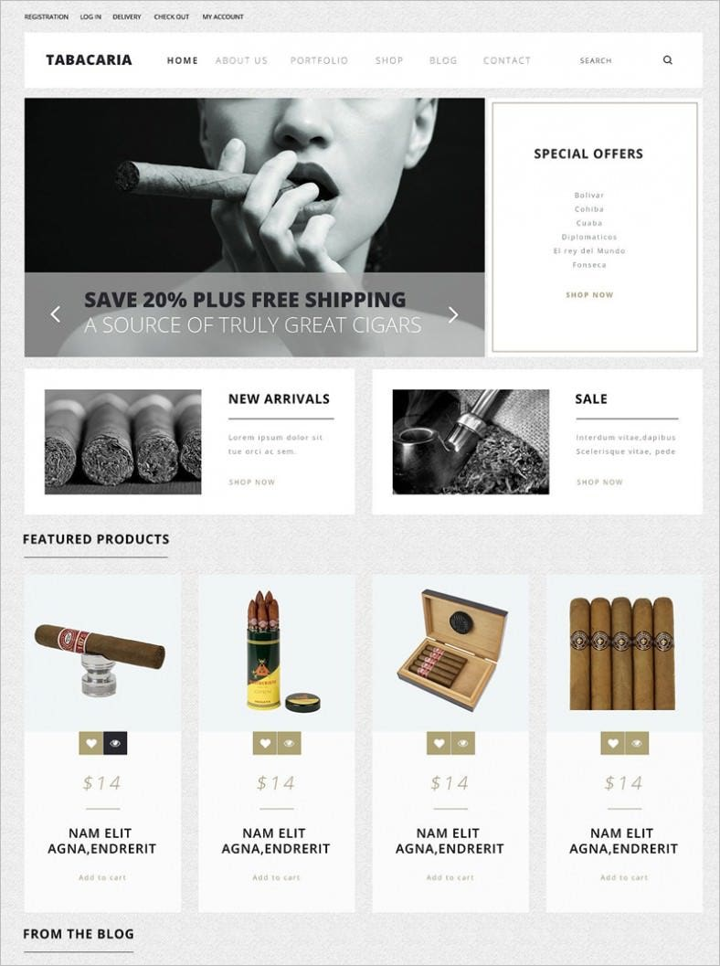 tobacco shop woocommerce theme 788x1057